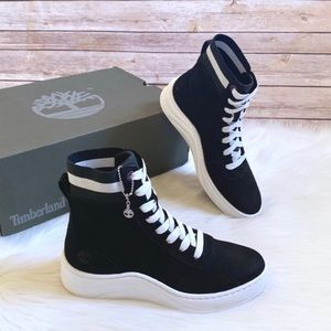 "Timberland Black Ruby Ann 6"" Sneaker Boots"
